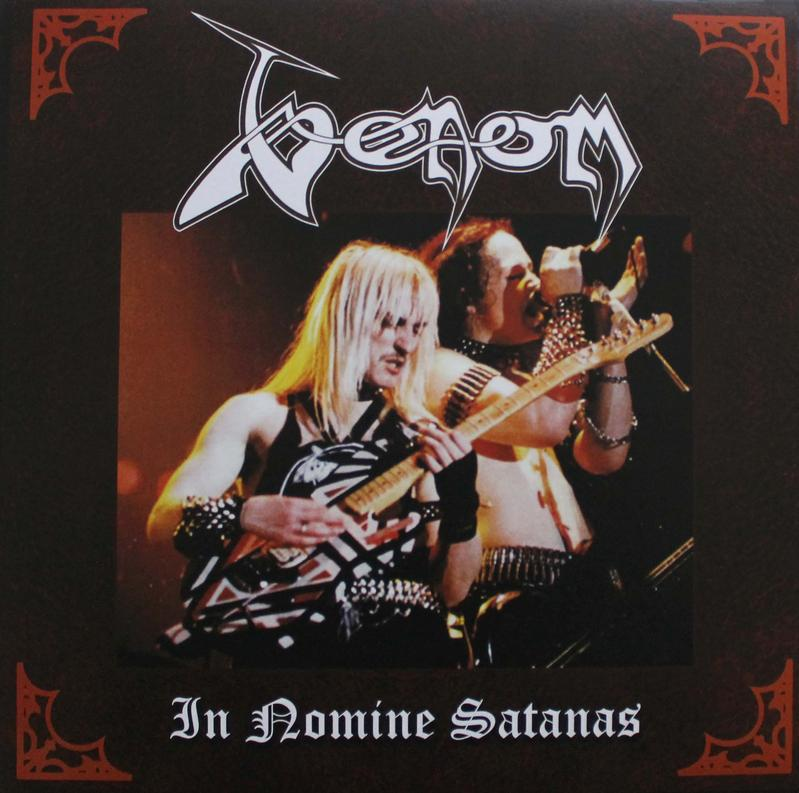 venom in nomine satanas bootleg vinyl greece 1997