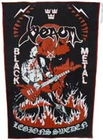 venom black metal legions sweden patch