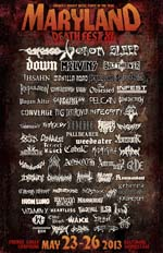 venom Maryland Deathfest 2013 May