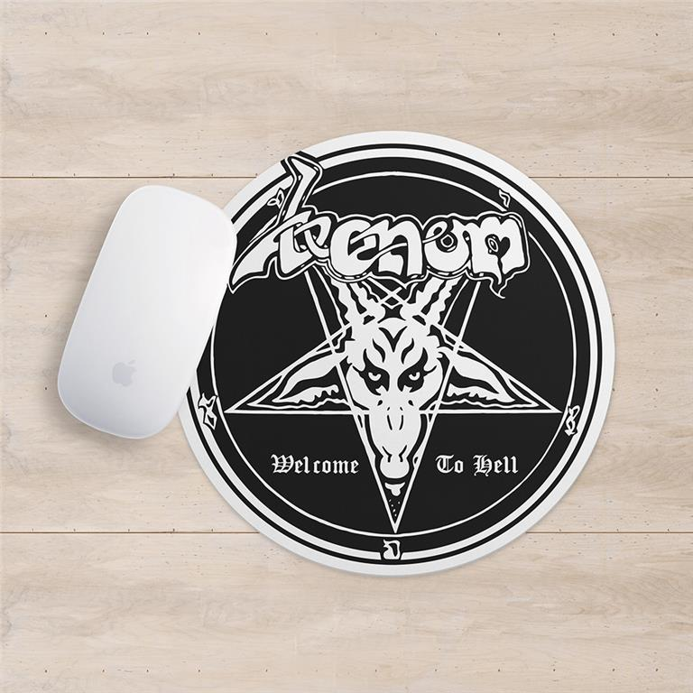 venom black metal collection mousepad