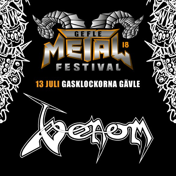 Venom black metal news gefle metal festival 2018