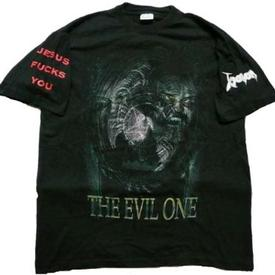 venom the evil one shirt 1997