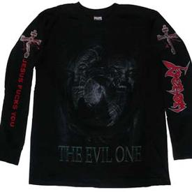 venom black metal the evil one shirt