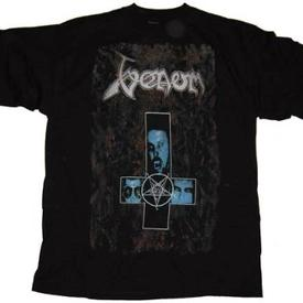 venom black metal war against christ shirt 1999