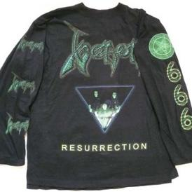 venom black metal resurrection shirt 2000