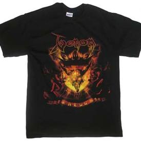 venom black metal hell shirt 2008
