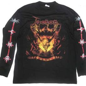 venom black metal hell shirt 2009