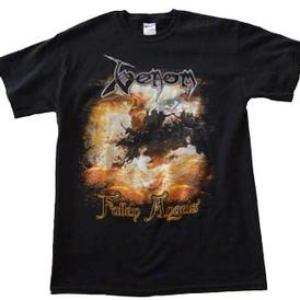 venom black metal fallen angels shirt official 2012