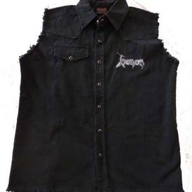 venom black metal worker shirt official 2012