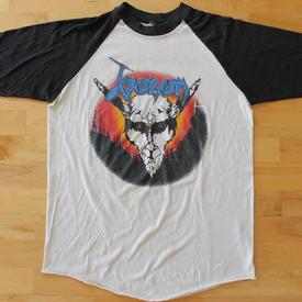venom black metal jersey shirt usa tour 1986