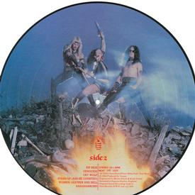 venom at war with satan picture disc