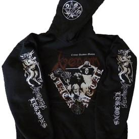 venom black metal collection homepage legions zipper hoddie