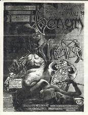venom black metal flyer advert 1985