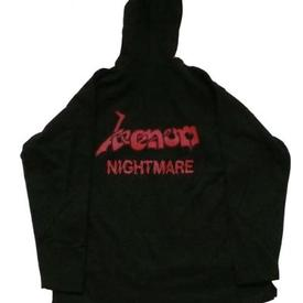 venom black metal nightmare hoddie