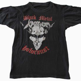 venom black metal holocaust shirt 1984