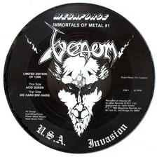 venom black metal collection die hard picture disc