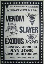 venom black metal 1985 advert