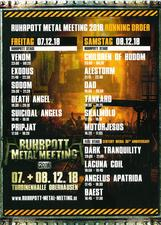 venom black metal ruhrpott metal meeting flyer