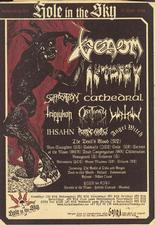 venom black metal hole in the sky advert