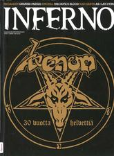 venom black metal inferno magazine cover