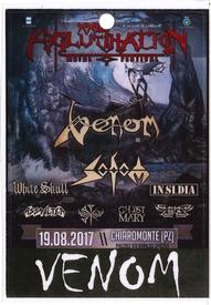 venom black metal collection homepage backtage pass
