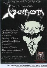 venom black metal metal black advert