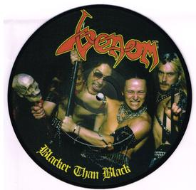 Venom Blacker Than Black bootleg vinyl black metal