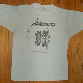 venom welcome to hell shirt rare 1981