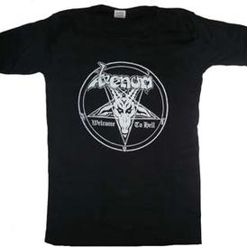venom welcome to hell shirt