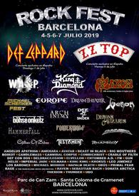 venom black metal collection homepage rock fest barcelona poster 2019