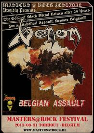 venom black metal tour posters