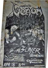 venom black metal slayer advert 1985