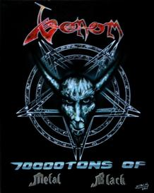 venom black metal 70 000 tons of metal