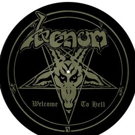 venom welcome to hell picture disc
