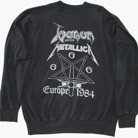 venom black metal holocaust rare 1984 tour shirt metallica