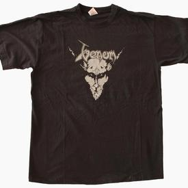 venom black metal legions cronos 2007 tour shirt
