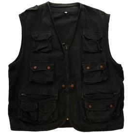 venom black metal waist coat cronos