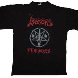 venom black metal collection homepage fan club shirt