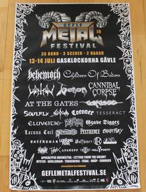 venom black metal collection festival poster