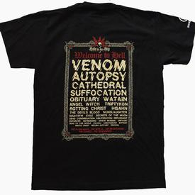 venom black metal hole in the sky festival 2010 shirt