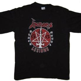venom black metal legions shirt