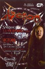 venom black metal south america poster 2009