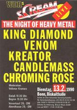 venom black metal live 1990 advert