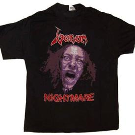 venom black metal collection homepage nightmare shirt