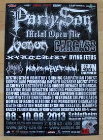 venom party san open air poster 2015