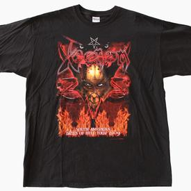 venom tour shirt 2009 south america