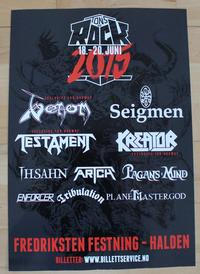 venom tons of rock poster norway 2015