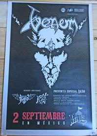 venom black metal mexico poster 2016