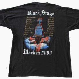 venom black metal wacken 2000 shirt
