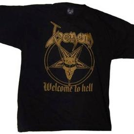 venom black metal collection shirt